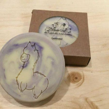 Alpakakeratinseife Lavendel